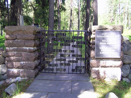 saksalaisten sotilaiden hautausmaa norvajärvi